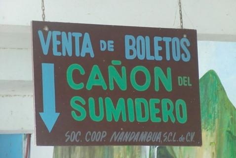 スミデロ峡谷 Cañón del Sumidero
