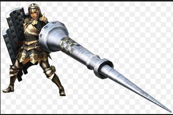 【モンハン】黒滅龍槍という武器を見かけるのですが、それって確か改造の武器ですよね?