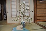 綿のクリスマスツリー