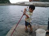 初めて釣った魚