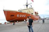 南極船「しらせ」見学