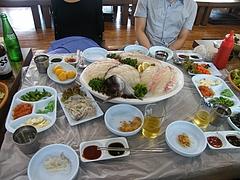 韓国刺身1