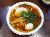 金久右衛門 紅醤油+平打麺