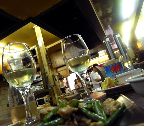 葡萄酒場 裏HIROYA 店内雰囲気