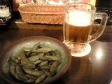 ニューミュンヘン 生ビール&枝豆