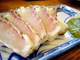 エノキ屋 鯛のタタキ