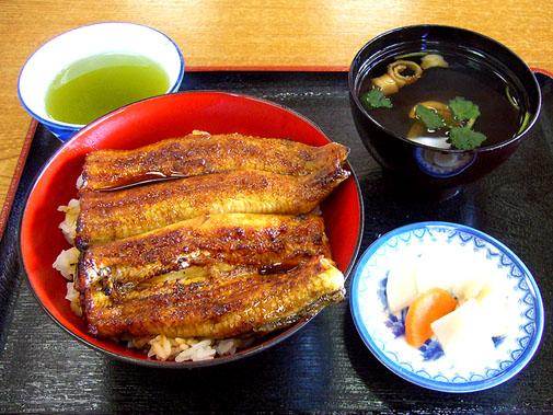 味の民芸 よし松 うな丼(松)