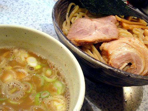 らぁめん たむら 豚骨魚介ベース つけ麺(並)