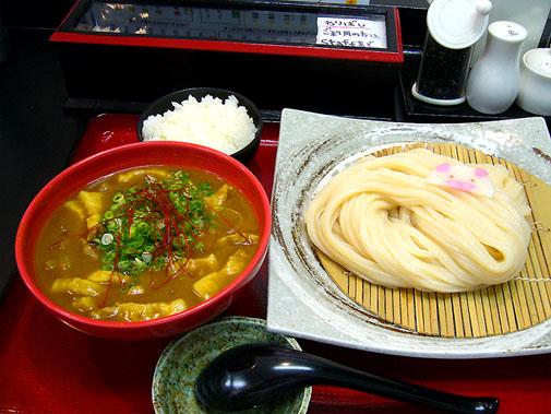極楽うどん TKU カレーつけ麺