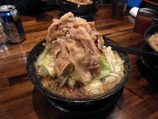 麺屋 わっしょい 男の根性黒醤油(全男盛)