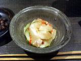 びりけん 瓜の酢の物