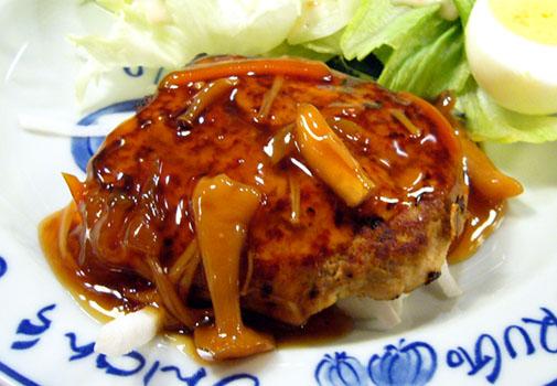 小料理 ひさご 豆腐ハンバーグ