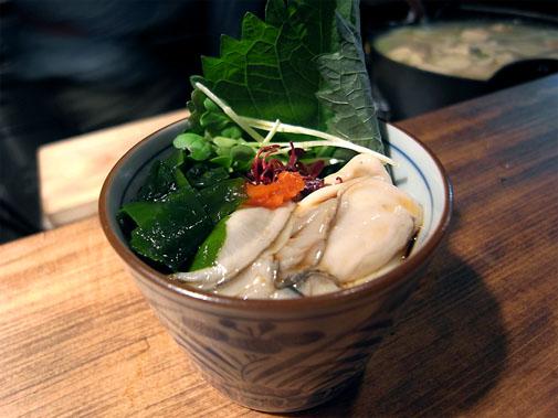 立呑 丑寅 酢牡蠣