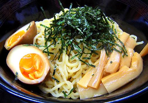 花京 つけ麺(麺アップ)