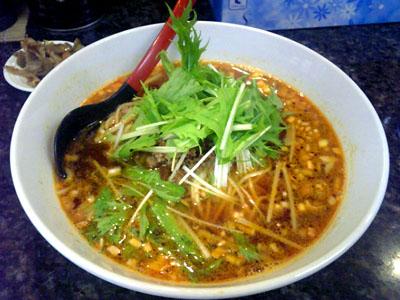 坦坦麺のおいしい店 ササラ 金胡麻坦坦麺