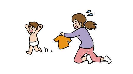 【2~3歳育児】朝の着替えを全然させてくれないんだけど皆どうやってる?