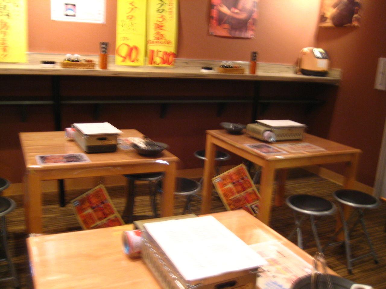 1階テーブル