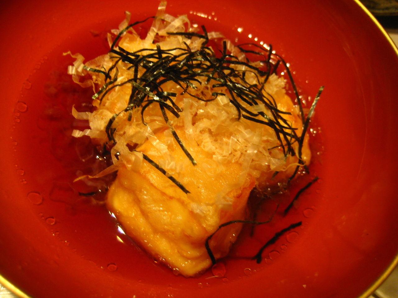 チーズ豆富の揚げ出し380円