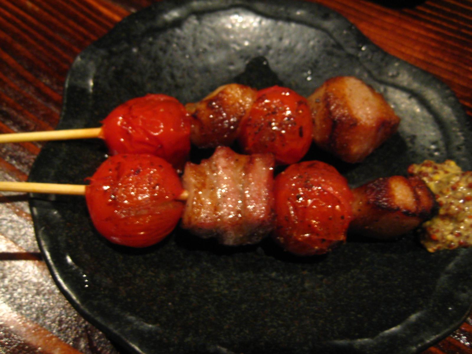 トマトベーコン420円