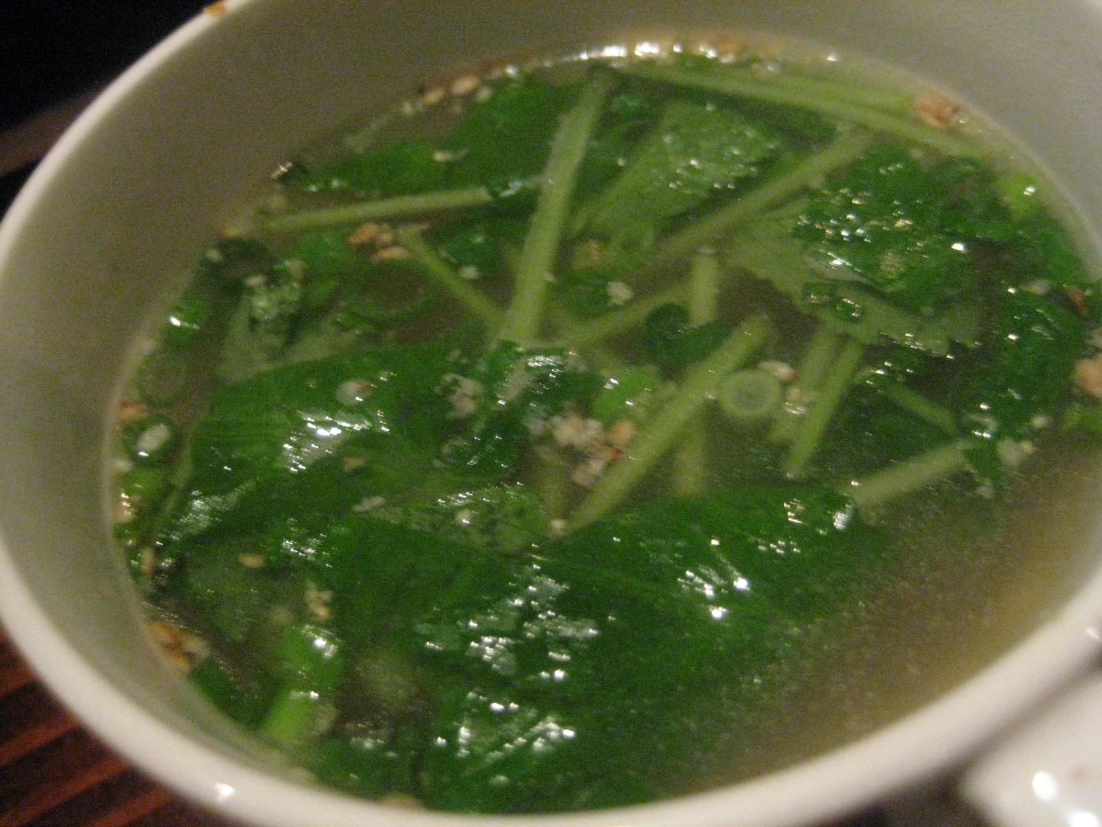 釜飯にかけるスープ