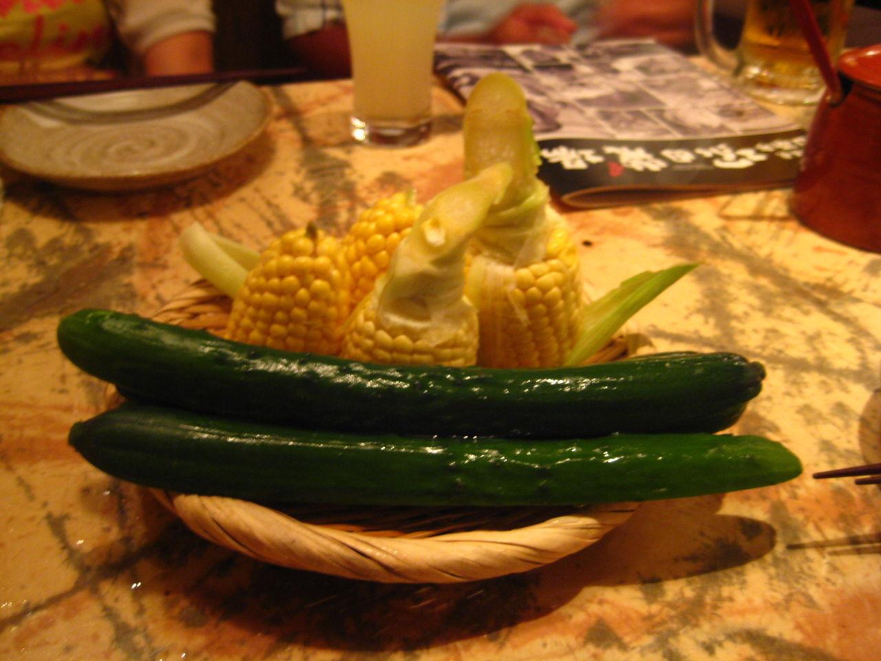 つきだし生野菜380円