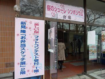 120429桜のシューレ会場