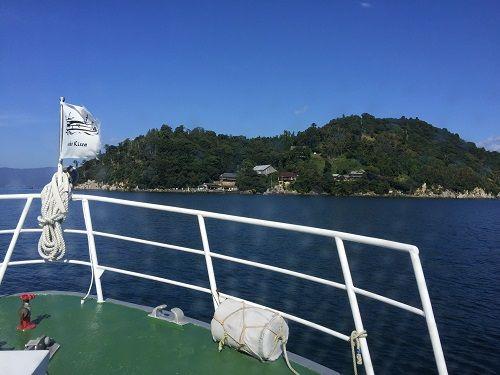 視察3日目は、竹生島から長浜市へ。子どもたちが主役!