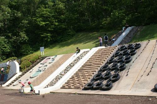 140615公園滑り台
