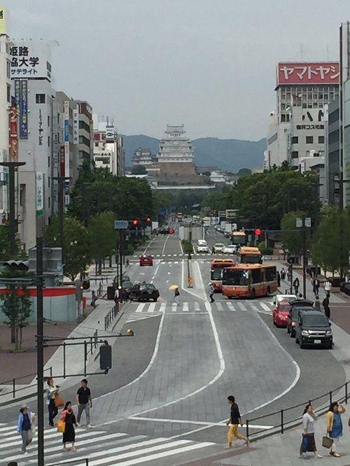 160606駅からの姫路城