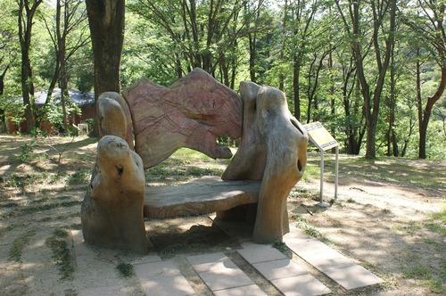 140615公園ベンチ