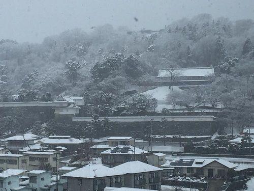 170315JT開講式雪景色