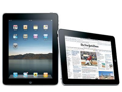 iPadに徹夜の行列