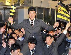明るいニュース!歳内投手、阪神が指名