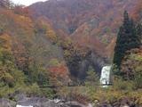 20171028苗名滝とつり橋
