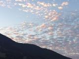 20171027羊雲と残照