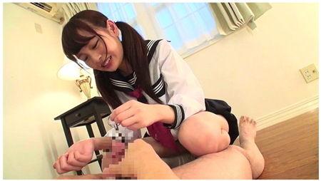 【跡美しゅり】ビンタや金蹴り!邪悪なjkが尿道に棒を強制挿入!痛い、本当に痛い!