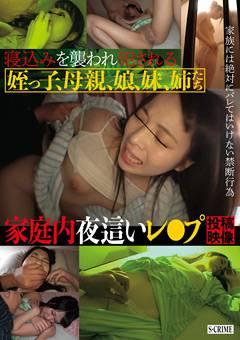 寝込みを襲われ犯される姪っ子、母親、娘、妹、姉たち 家庭内夜這いレ●プ投稿映像