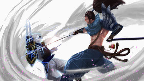 yasuo_vs_zed_by_kiremeister-d6xkd24