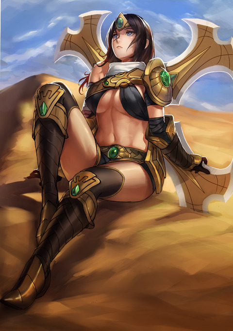 Sivir-League-of-Legends-Fan-Art-220116