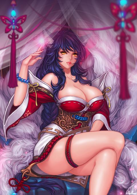 Ahri-League-of-Legends-Fan-Art-2405