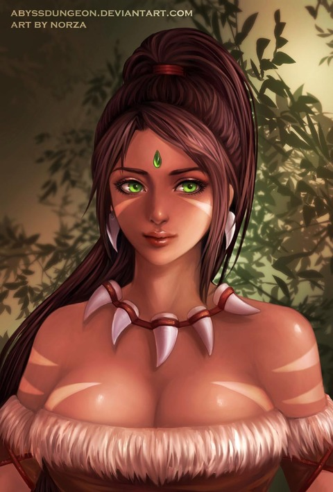nidalee_by_abyssdungeon_d8ampsi-fullview
