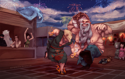 lol__drunken_boxing_gragas_by_scriptkittie-d4ob5s2