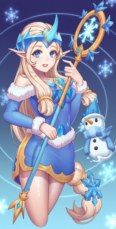 Winter-Wonder-Soraka-by-烤考拉