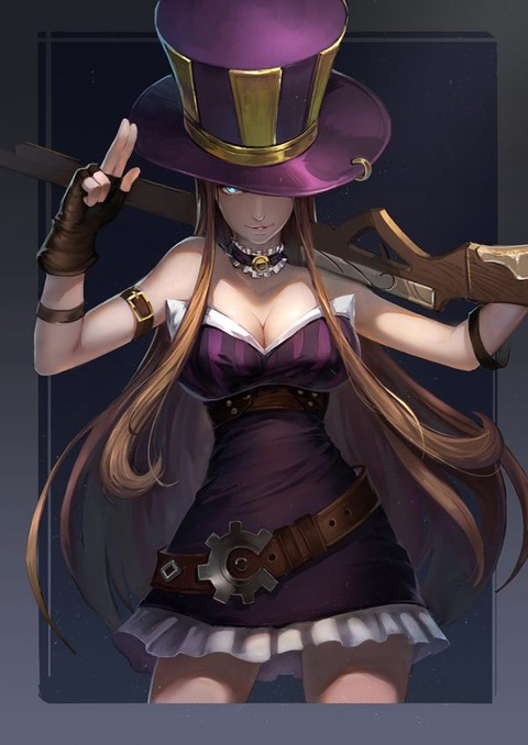 Caitlyn-by-烏龜EX-HD-Wallpaper-Backgro