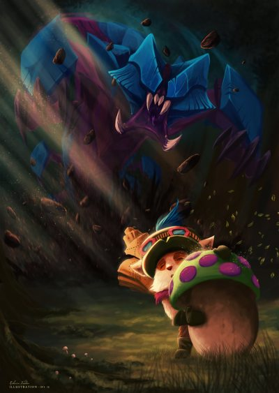 RekSai-Teemo-by-Artylay-HD-Wallpa