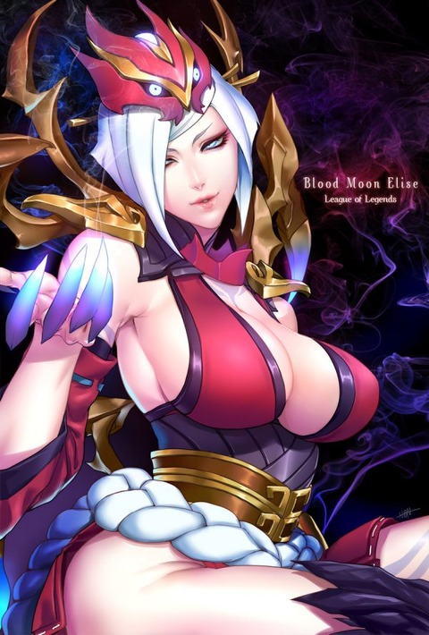 Blood-Moon-Elise-by-N◎N-
