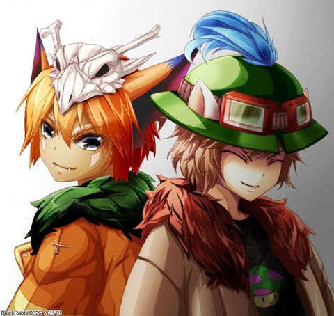 Human-Gnar-Teemo-by-