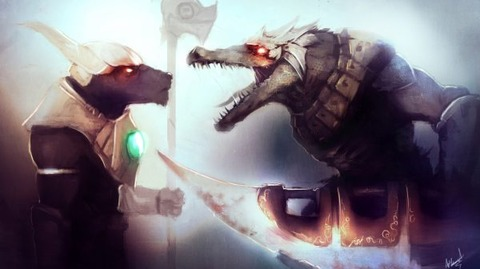 Renekton-Vs-Nasus-by-Aths-Art