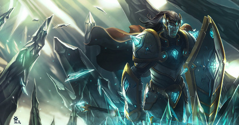 fan_art_rework_taric_the_gem_knight_by_akiman-d7onxdy