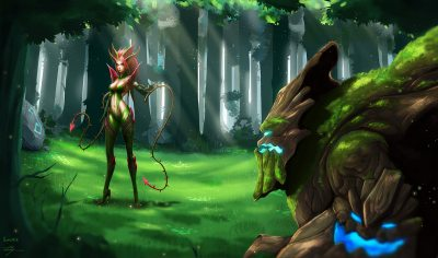 Maokai-Vs-Zyra-by-Zarory-